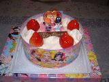 プリキュアのケーキ